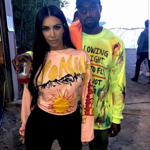 ac76a946 Kanye West Tops | Wyoming Kkw Long Sleeve Tshirt | Poshmark